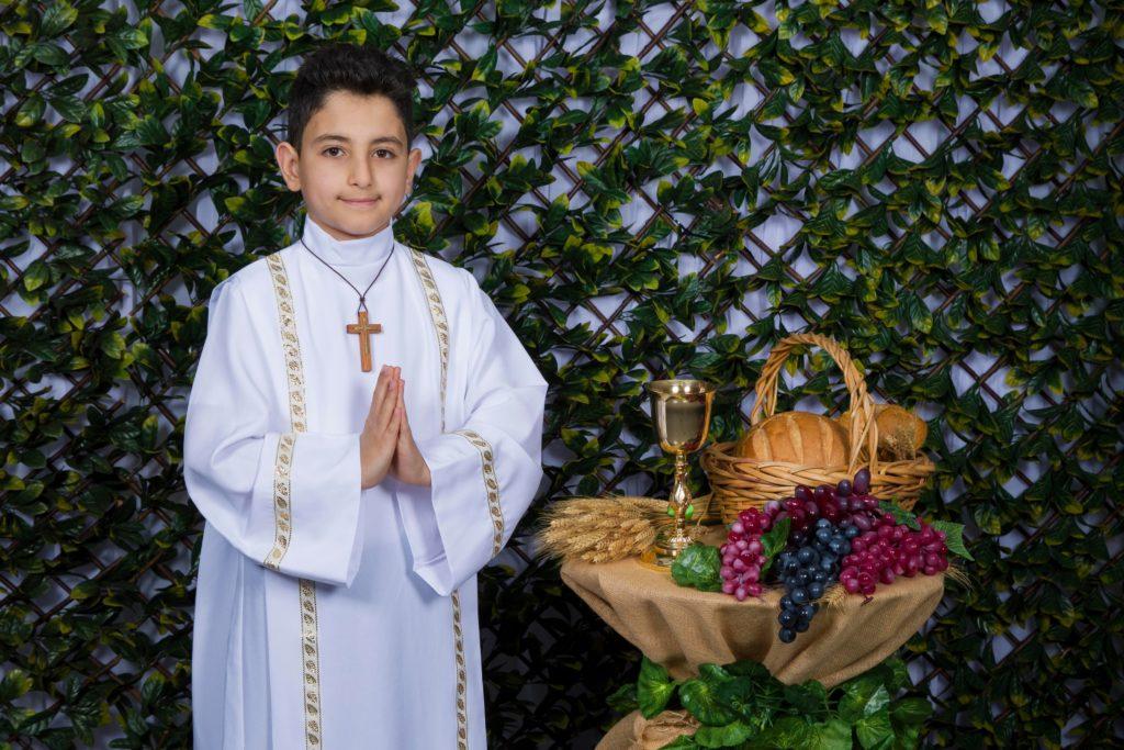 Angil Shaima's Holy Communion