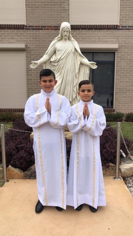 Saviola & Christian's Holy Communion